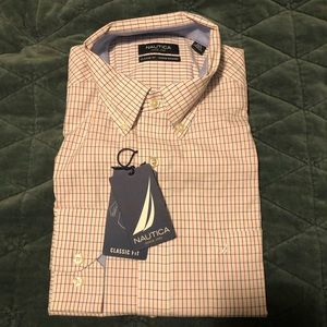 NWT Nautica Men's Button Down Shirt